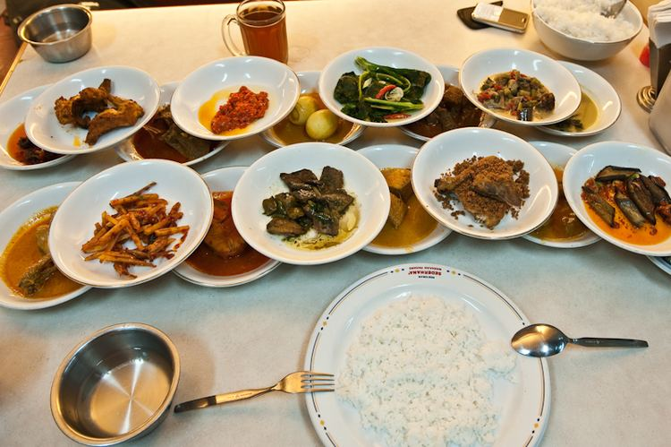 Padang Cuisine of Padang, Popular Food of Padang