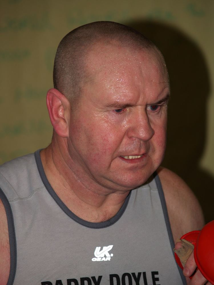 Paddy Doyle World Gym Challenge Paddy Doyle