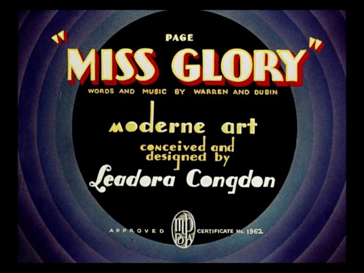Page Miss Glory (1936 film) httpsuploadwikimediaorgwikipediacommons33