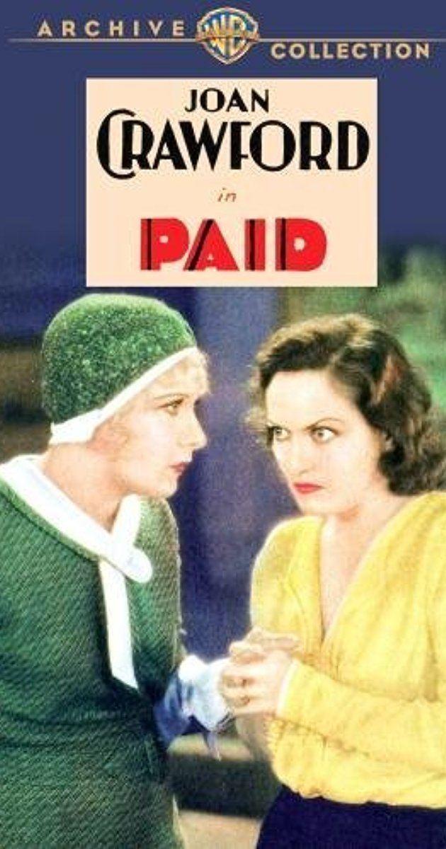 Paid (1930 film) Paid 1930 IMDb