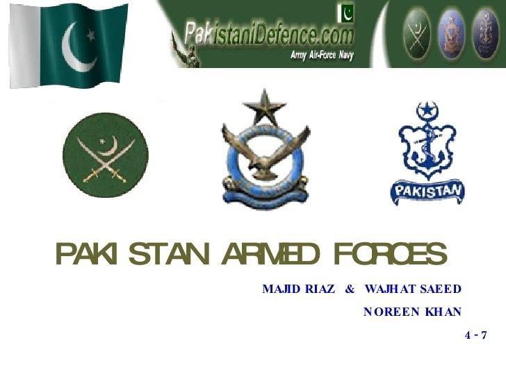 Pakistan Armed Forces httpsimageslidesharecdncomarmedforces090619