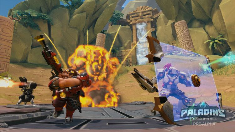 Paladins (video game) Video Game Video Reviews Celebrity Interviews Strategy Videos