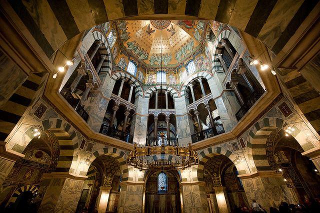 Palatine Chapel, Aachen 1000 images about Carolingian Architecture on Pinterest