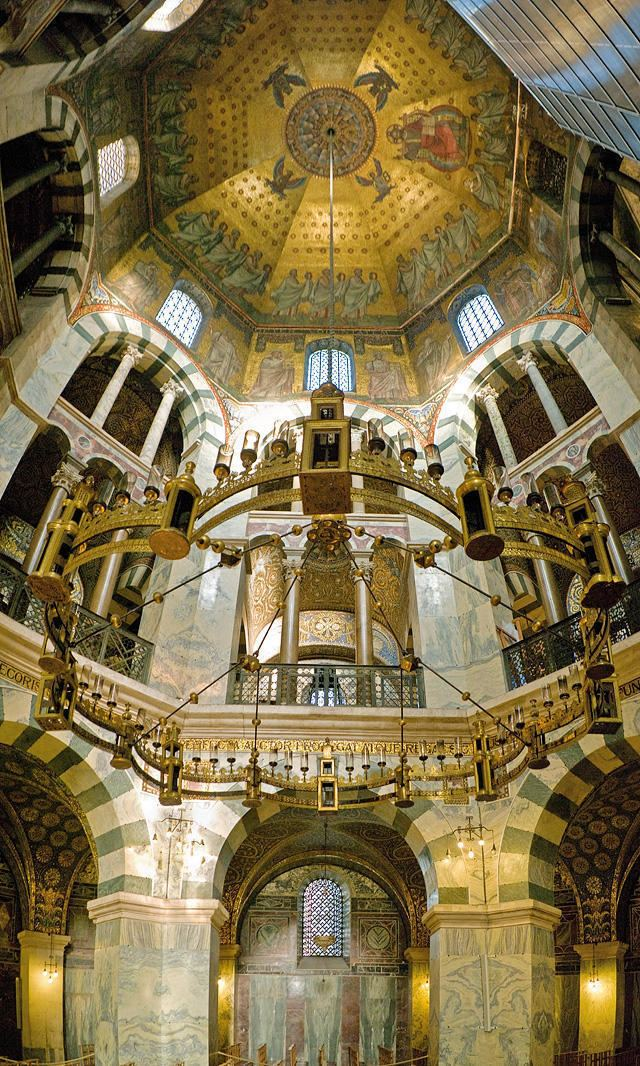 Palatine Chapel, Aachen Aachen Cathedral Historical Facts and Pictures The History Hub