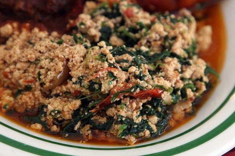 Palaver sauce Kontonmire Stew Palaver Sauce AfricanSeercom