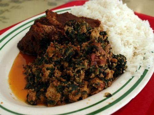 Palaver sauce Bronx Eats Palaver Sauce at Papaye Fordham Heights Serious Eats