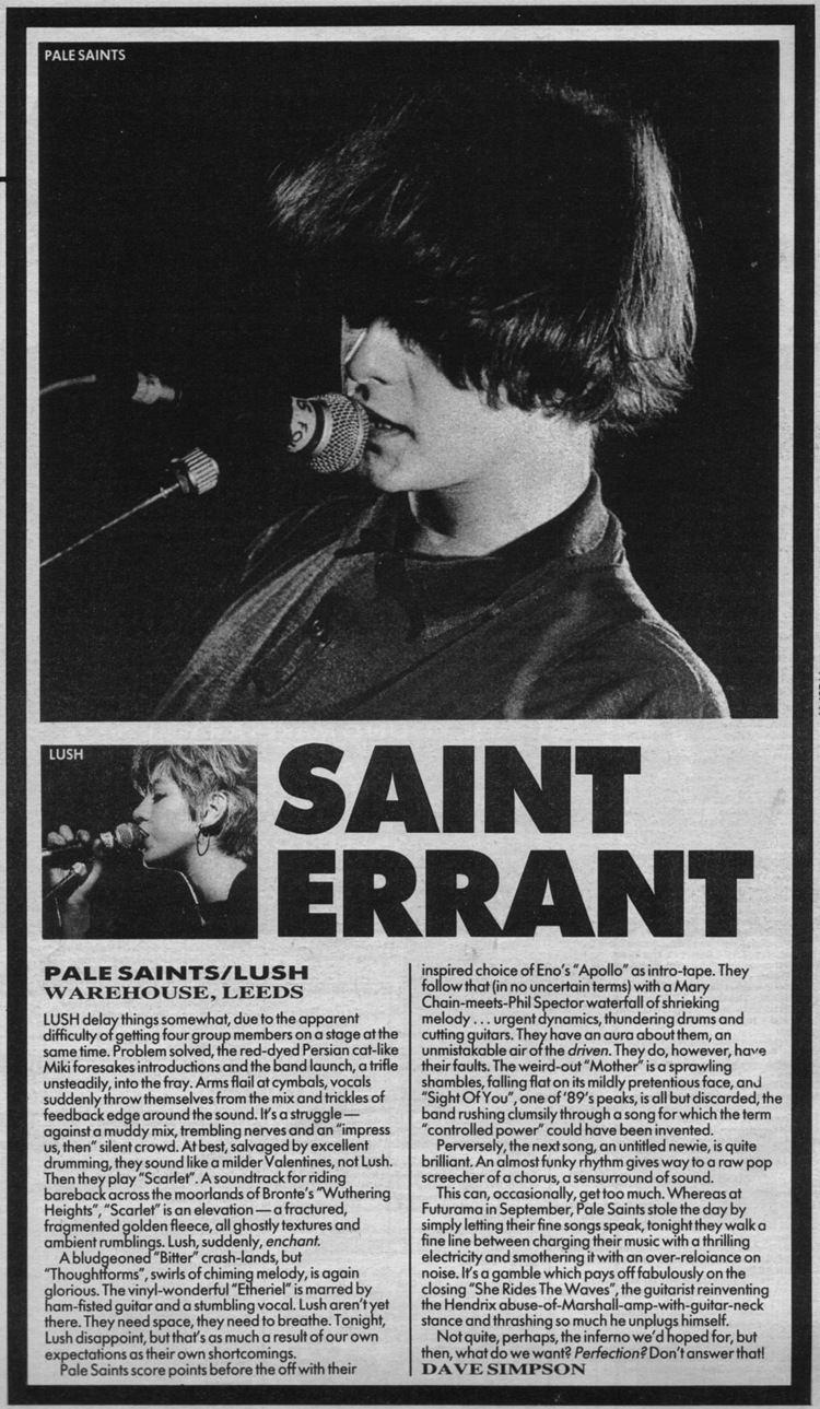 Pale Saints miki berenyi Archived Music Press