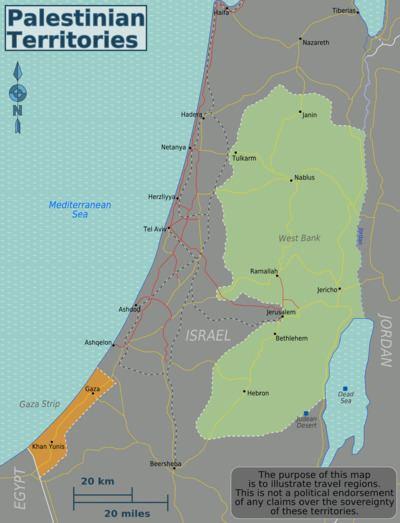 Palestinian territories Palestinian Territories travel guide Wikitravel