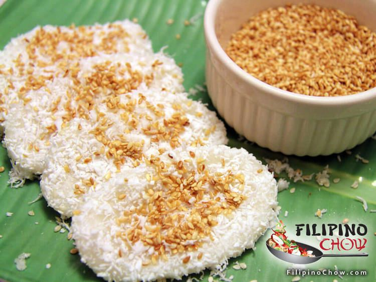Palitaw Palitaw Filipino Chow39s Philippine Food and Recipes