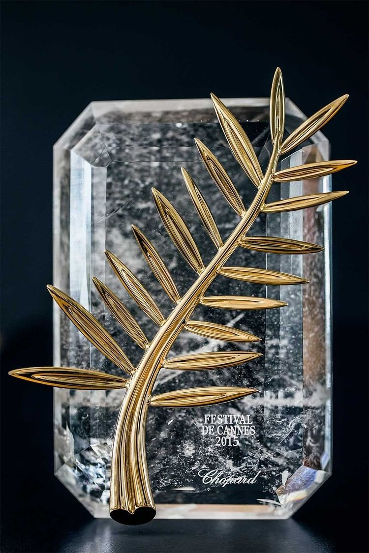 Palme d'Or The Palme d39Or crafted by Chopard celebrates its 60th Anniversary