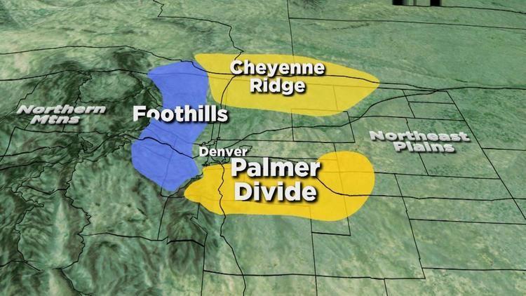 Palmer Divide Palmer Divide CBS Denver