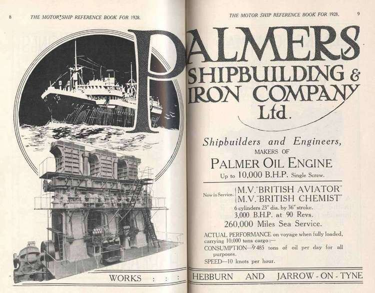 Palmers Shipbuilding and Iron Company wrecksiteeuimgownerbuilderdecorationpalmersj