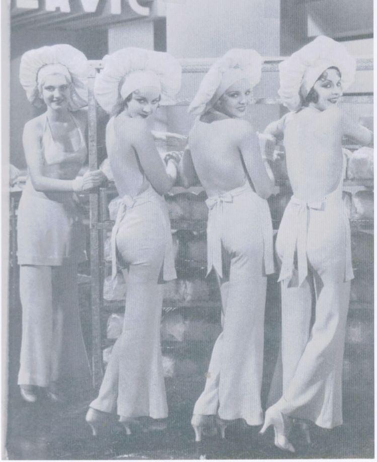 Palmy Days A brief analysis of the Chorine costume in Palmy Days 1931 Worn
