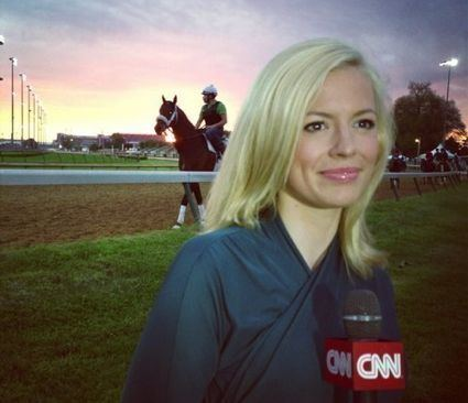 Pamela Brown (journalist) Pamela Brown baby in Governor39s Mansion is now a CNN