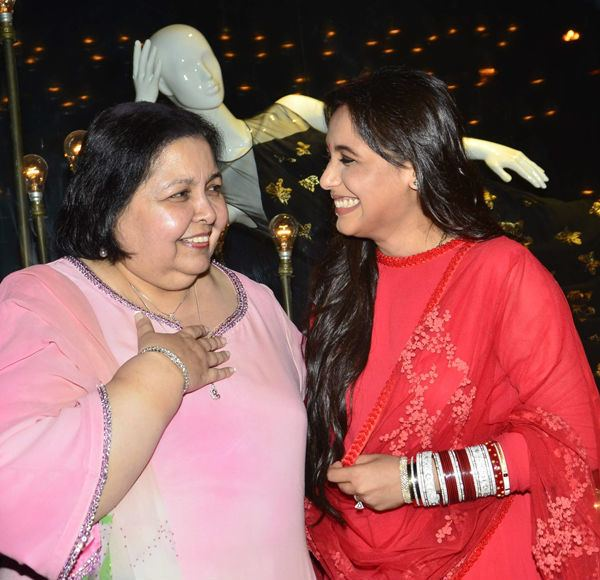 Pamela Chopra Pamela Chopra can39t wait to bring Aditya Chopra and Rani