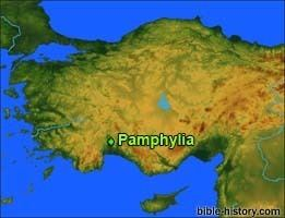Pamphylia wwwbiblehistorycomgeographybibleplacesPamphy