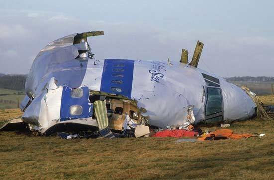 Pan Am Flight 103 Pan Am flight 103 disaster terrorist bombing over Lockerbie