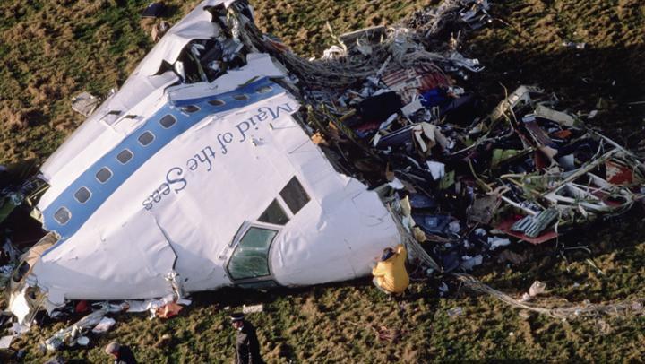 Pan Am Flight 103 Pan Am Flight 103 explodes over Lockerbie Scotland Dec 21 1988