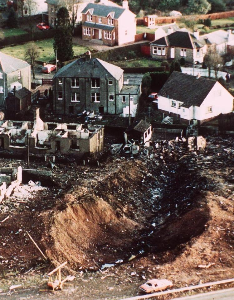 Pan Am Flight 103 Pan Am Flight 103 destroyed midair over Lockerbie in 1988 NY Daily