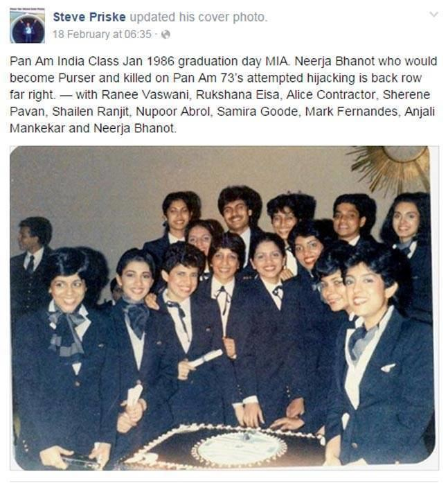Pan Am Flight 73 Neerja Even Neerja Bhanot39s soul would cringe at this undeserved