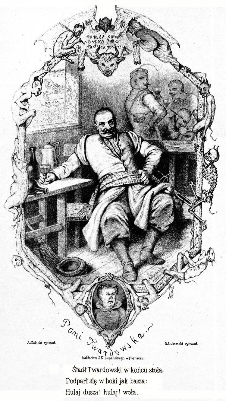 Pan Twardowski FilePan Twardowski 19th century woodcutjpg Wikimedia Commons