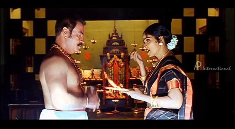 Panchakshari movie scenes Veerayya Tamil Movie Scenes Clips Comedy Songs Pradeep Rawat supports his wife