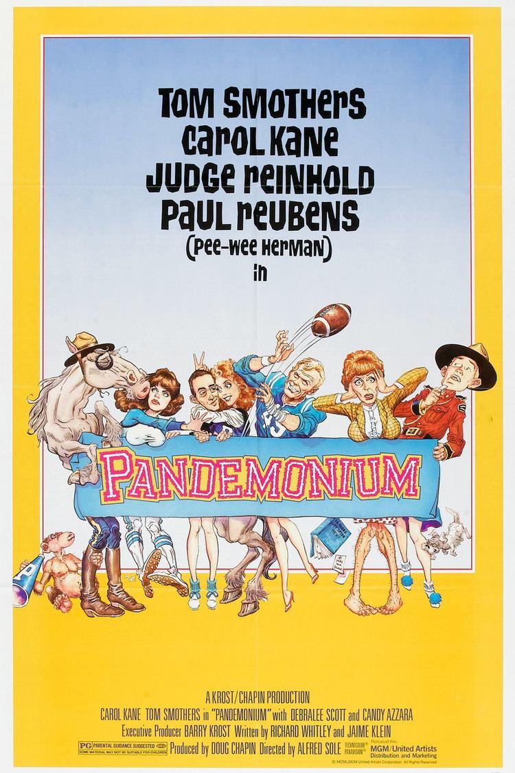 Pandemonium (1982 film) wwwgstaticcomtvthumbmovieposters5402p5402p