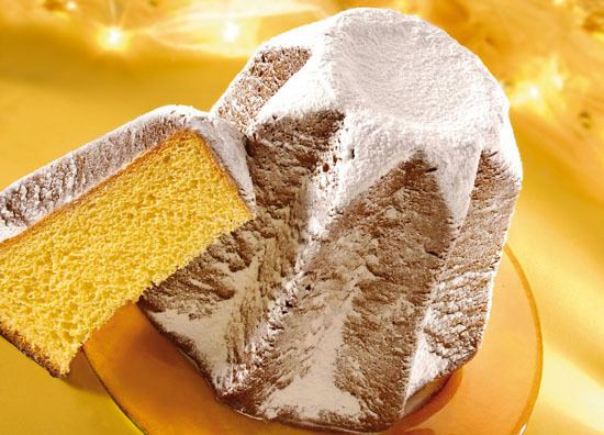 Pandoro Panettone and Torrone typical Christmas sweet treats in Milan