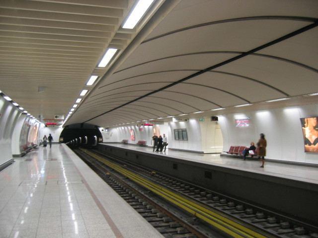 Panepistimio metro station