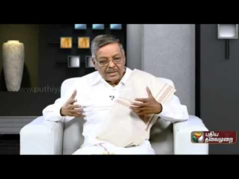Panruti S. Ramachandran Panruti S Ramachandran in Agni paritchai16052015 YouTube
