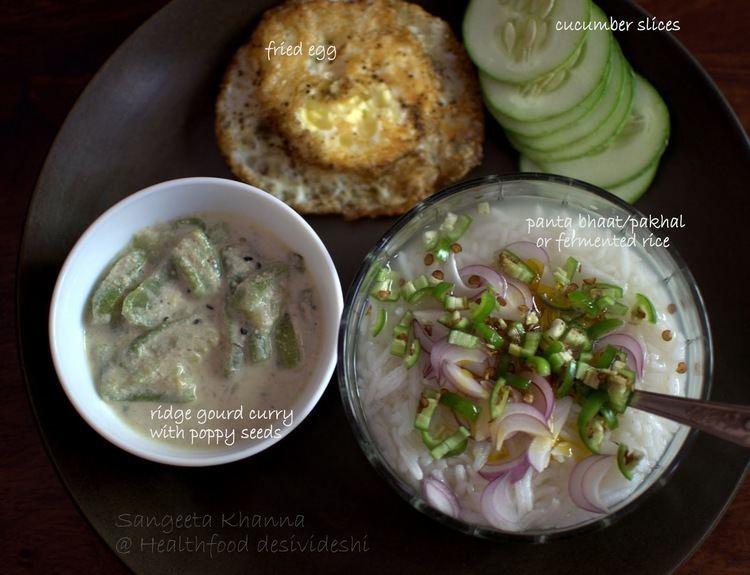 Panta bhat healthfood desivideshi fermented foods panta bhaat or pakhala or