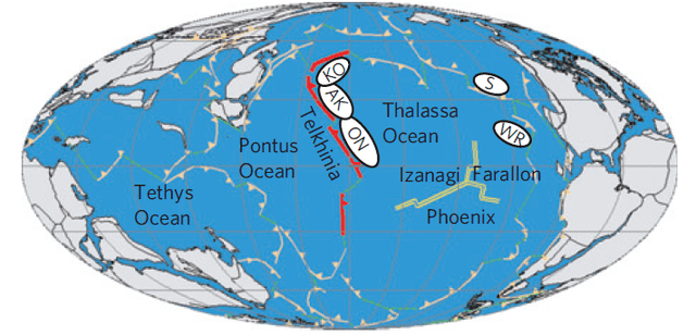 Panthalassa Before the Pacific finding the lost islands of a Pangeaera ocean