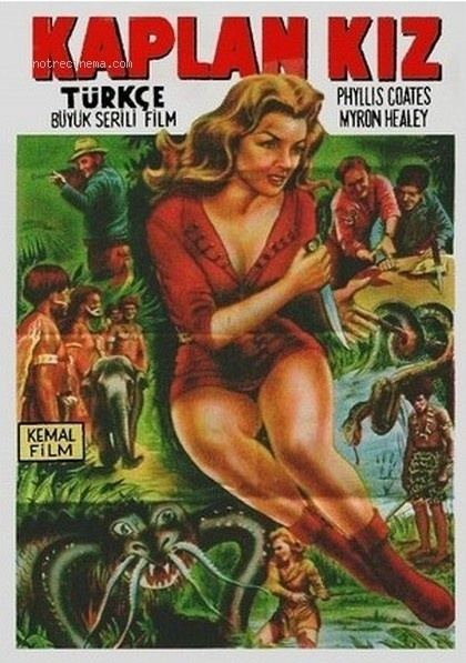 Panther Girl of the Kongo Panther Girl of the Kongo 1955 via Turkey The Curse of Matinee