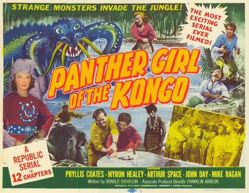 Panther Girl of the Kongo wwwwesternclippingscomimagesserialsr5panther