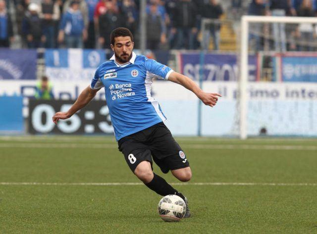 Paolo Faragò Cagliari Farag un giocatore rossobl