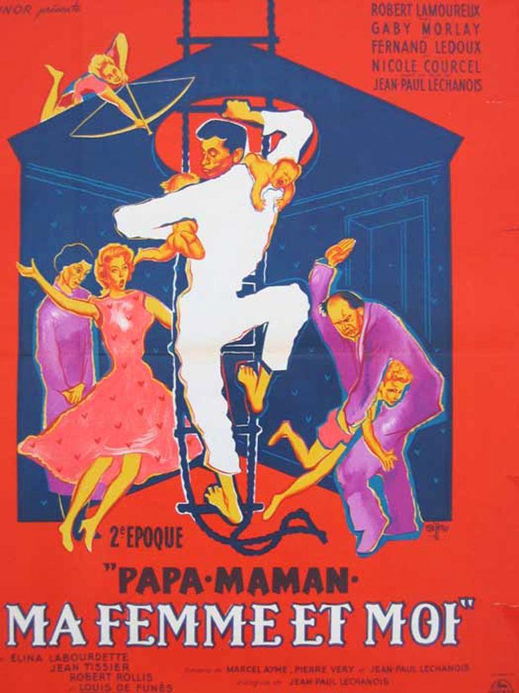 Papa, maman, ma femme et moi du film Papa maman ma femme et moi