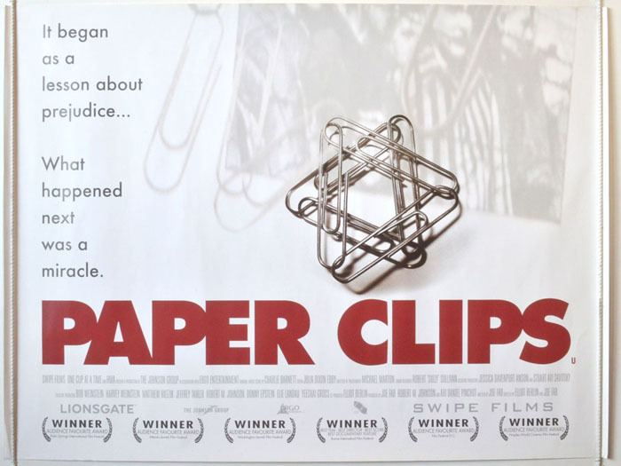 Paper Clips (film) At the Cinema Paper Clips The Blog of Litwits