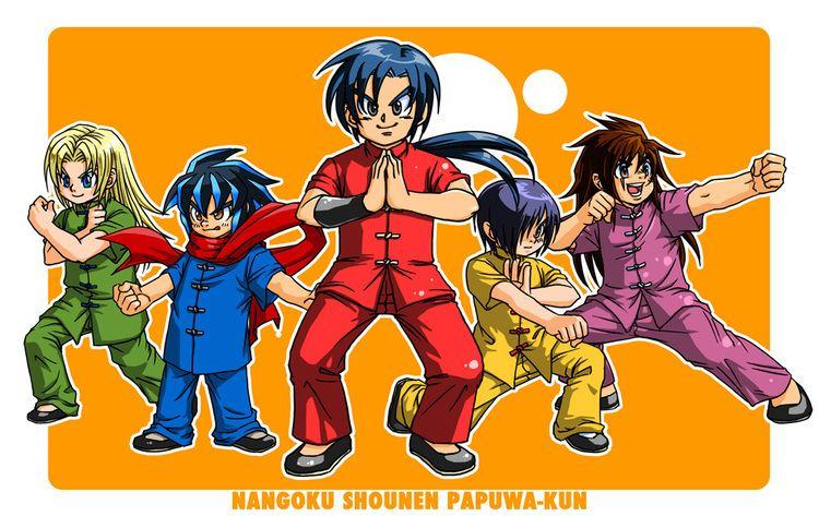 muka muka paradise characters