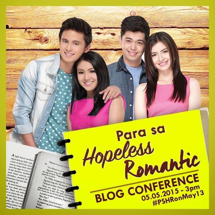 Para sa Hopeless Romantic Nadine Lustre Fanatic Para Sa Hopeless Romantic Bloggers Conference