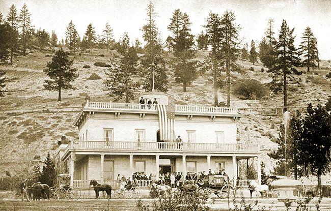 Paradise, Nevada in the past, History of Paradise, Nevada