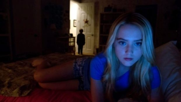 Paramount News movie scenes This film image released by Paramount Pictures shows Kathryn Newton in a scene from Paranormal Activity 4 The next instalment will be part of Paramount s