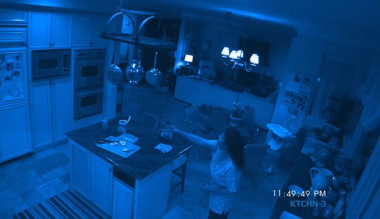 Paranormal Activity 2 movie scenes It doesn t take long for the weird shit to start happening