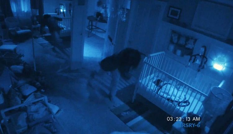 Paranormal Activity 2 movie scenes Lots of shit happens in the baby s bedroom
