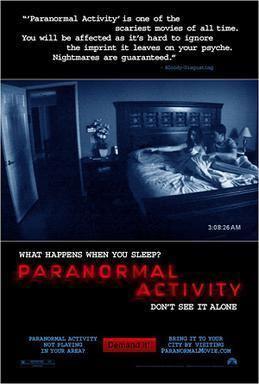 Paranormal Activity (film series) movie poster