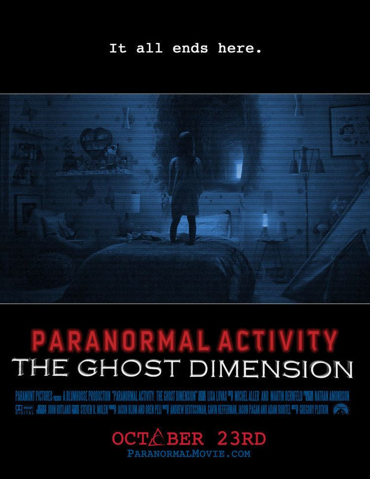 Paranormal Activity: The Ghost Dimension Interview Actress Brit Shaw on PARANORMAL ACTIVITY THE GHOST