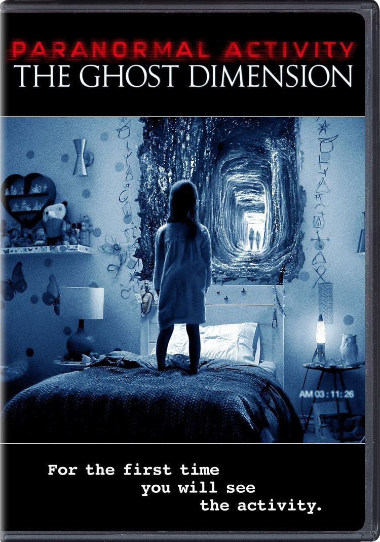 Paranormal Activity: The Ghost Dimension Paranormal Activity 5 The Ghost Dimension DVD Release Date January