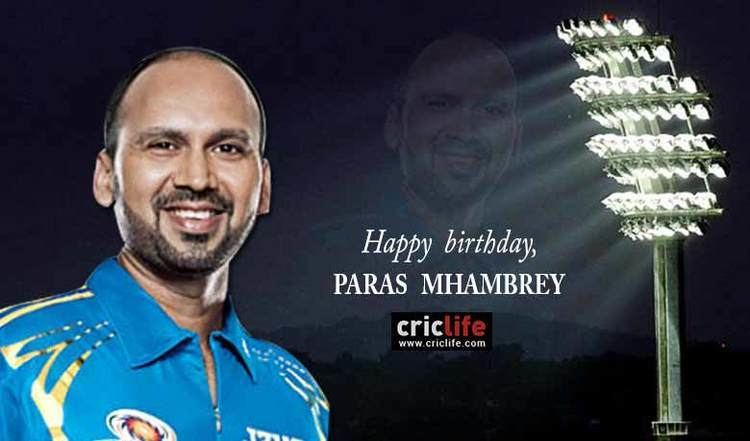 Paras Mhambrey 11 facts about the Mumbai stalwart Cricket Country