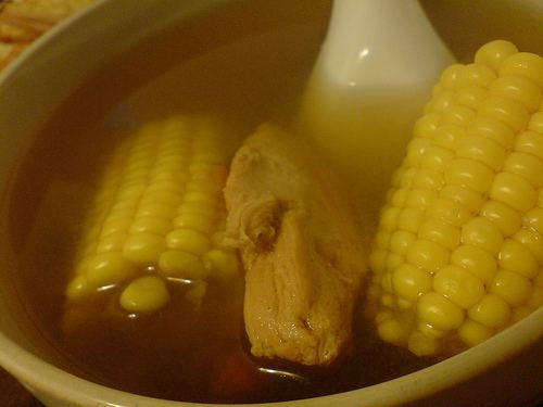 Parboiling Chinese Simmering Soup