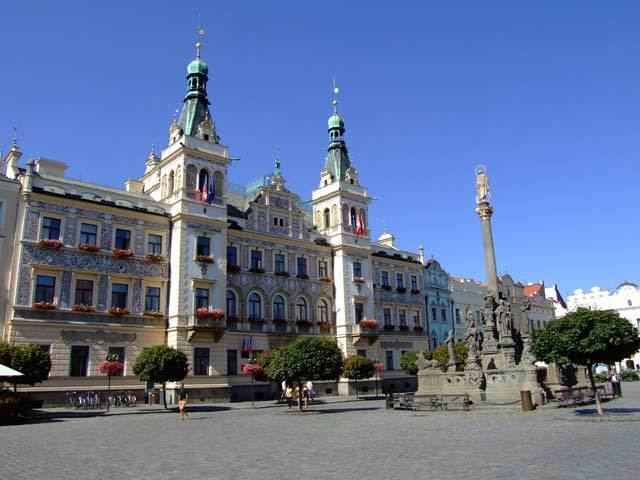 Pardubice in the past, History of Pardubice