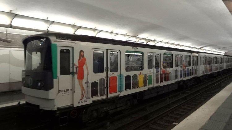 Paris Métro Line 3 Paris Metro Line 3 MF 67 quotDelseyquot Malesherbes YouTube